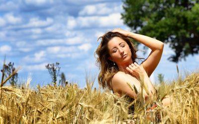 Sonnenstrahlenwarmgeküsst